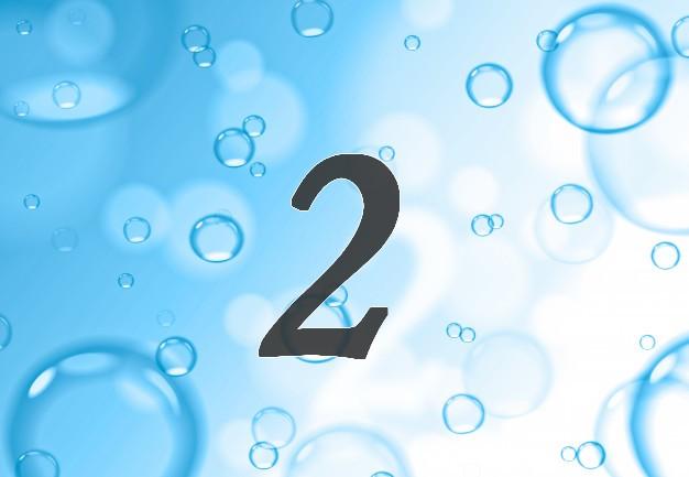Burbujas de jabon en el fondo azul fondo abstracto 3248 508
